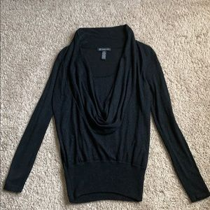 INC black sweater